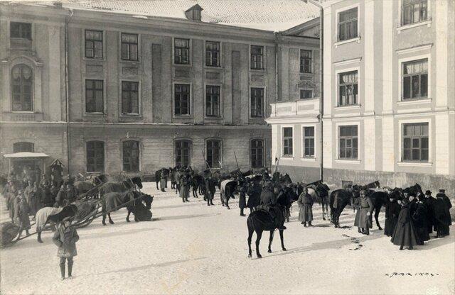 Rahvuslik pidu ja saksa väed Tallinnas