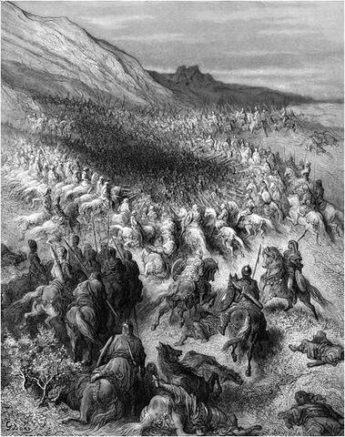 Batalla de los Cuernos de Hattin.
