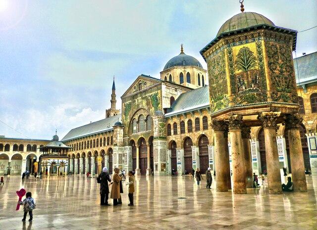 Mezquita de los Omeyas. (Damasco). - Walid I.