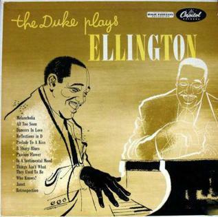The Duke Plays Ellington (grabación y lanzamiento)