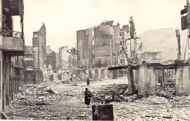 Guernica és bombardejat