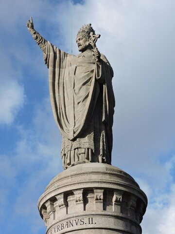 Pope Urban II Preaches about the Crusades