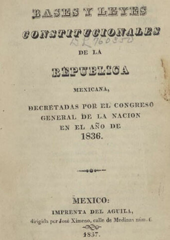 Constitución de 1835