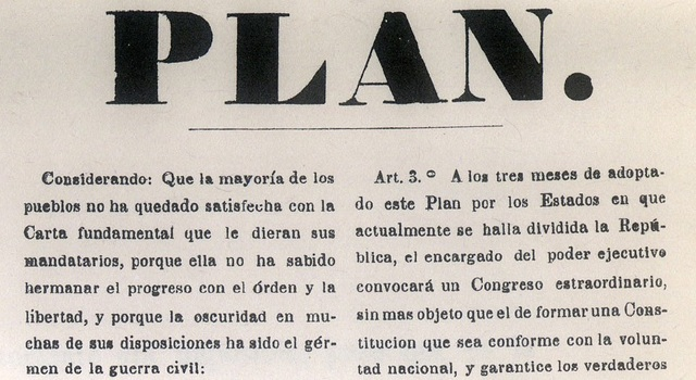 Plan de Tacubaya/Inicio de la Guerra de Reforma