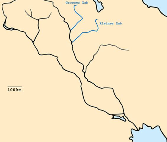 Batalla del Gran Zab- Fin de la Dinastía Omeya. Victoria Abasí.