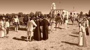 Primera misión religiosa llega  México