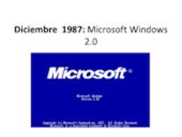 lanzamiento de windows 2.0