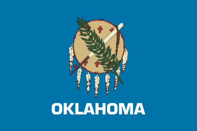 Oklahoma admitted as a State