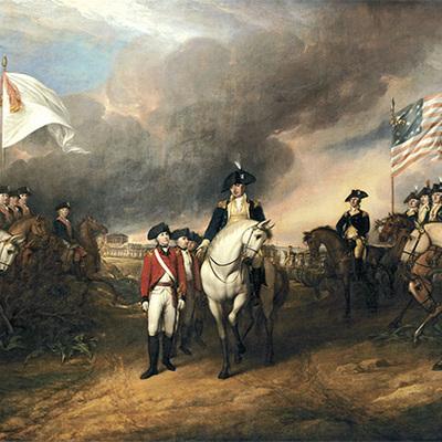REVOLUCION DE ESTADOS UNIDOS (1776-1783) timeline