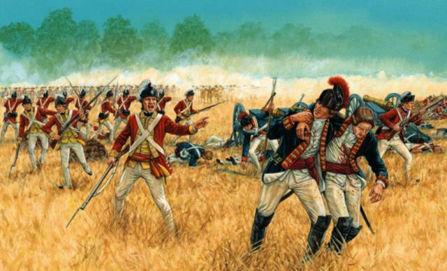PRIMERA ETAPA (1777) LA BATALLA DE SARATOGA