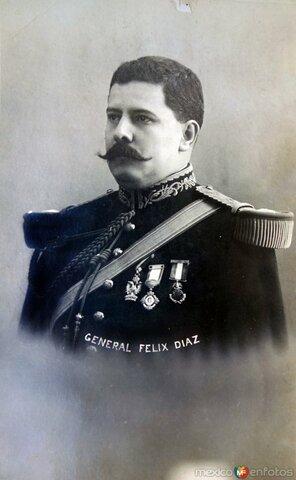 Félix Díaz se rebela contra el gobierno de Madero