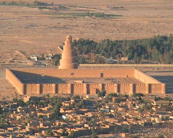 Ciudad de Samarra. (Abasí).- Nueva capital del imperio Abasí.