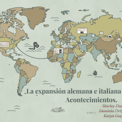 Expansion alemana e italiana (1933-1941) timeline