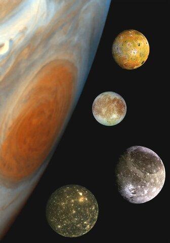 Luas em Júpiter?