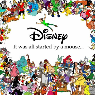 Walt Disney's Films Through The History timeline