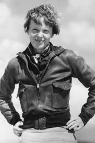 First Women to Fly over Atlantic