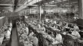 Evolución de la calidad en el siglo XX. timeline