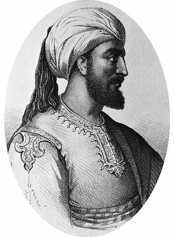 Abderramán I. (731-788). (Reinado: 756-788). 1º Emir de Córdoba.