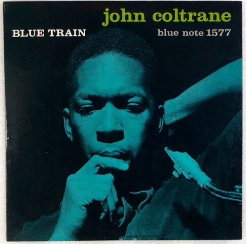 Blue train (lanzamiento y grabación)