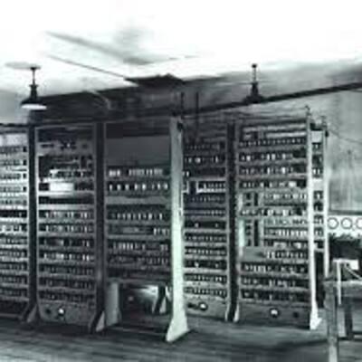 La historia del ordinador timeline