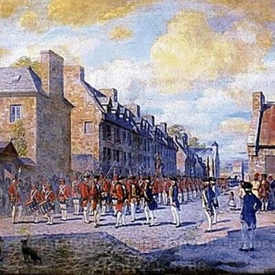 Histoire du Québec et du Canada La conquête et le changement d'empire 1760 à 1791 timeline
