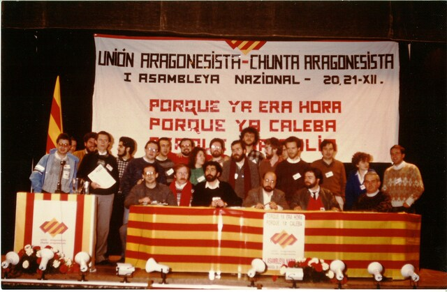 Fundación de la Unión Aragonesista.