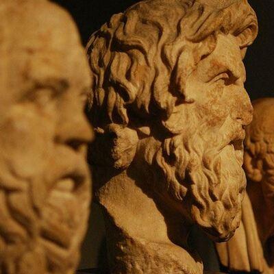 Épocas del pensamiento filosófico  timeline