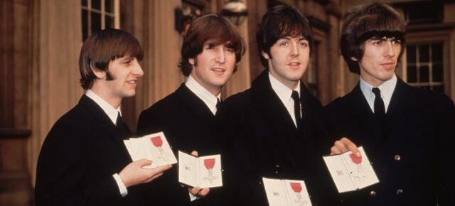 The Beatles are appointed members of the Order of the British Empire