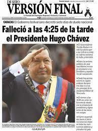 Muerte Hugo Chávez