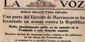 Alçament militar a Melilla