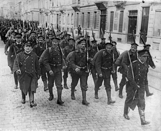 Sisenevad Saksa väed