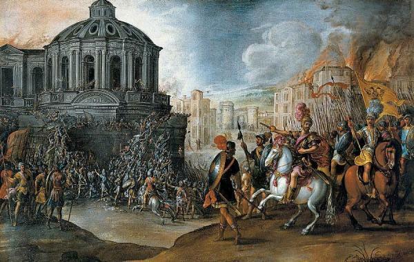 Toma y saqueo de Roma