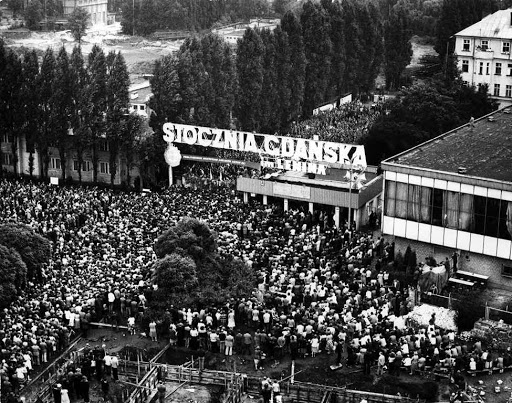Sciopero generale di Solidarnost ai cantieri navali di Varna