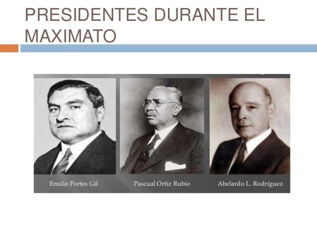 """Surge el """"MAXIMATO"""""""