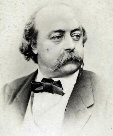 Nacimiento de Gustave Flaubert.