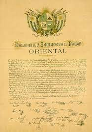 Independencia de Uruguay.