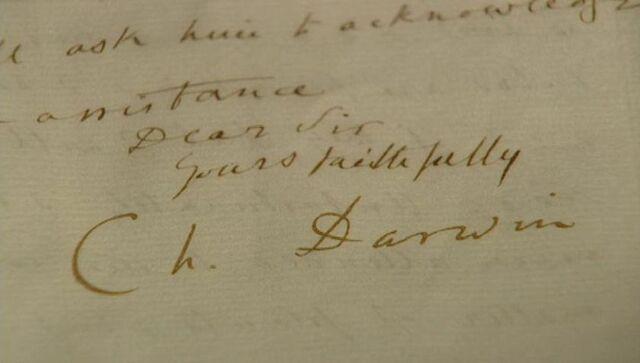 Darwin recibe una carta de John Henslow.