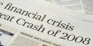 Crisis financiera del 2008.