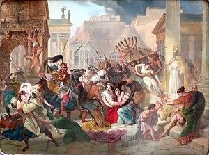 Saque  de Roma por Génserico