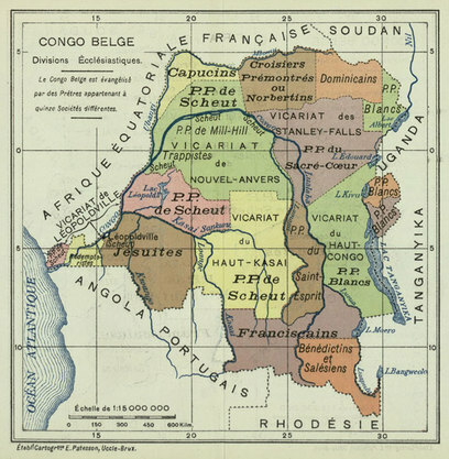 Leopold II Establishes the Congo Free State