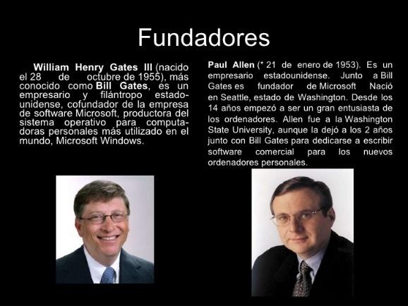 William Henry Gates - Paul Allen