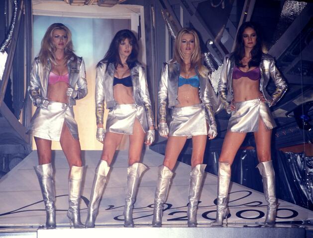 Первые ангелы Victoria's Secret