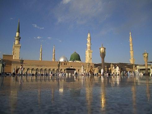 Mezquita del Profeta Mahoma.(Medina).-Walid I.