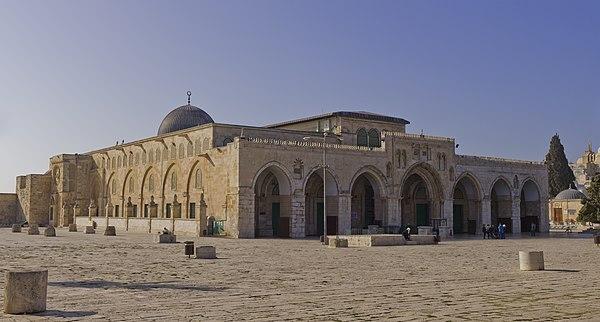 Mezquita de Al-Aqsa. (Jerusalén)- Walid I.