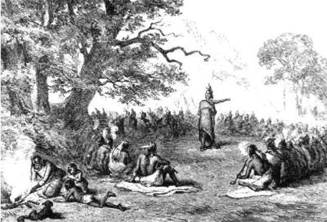 Indians Abandon British