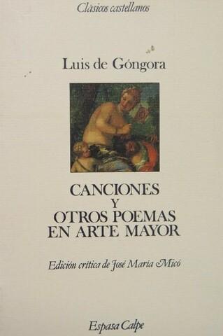 La primera obra impresa de Góngora