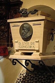 Fallecimiento de Luis de Gongora.