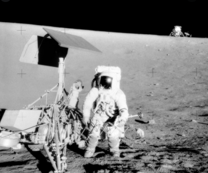 First humans land on the Moon