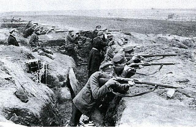 Vene põhjakorpuse pealetung Narva alt