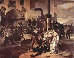 Si concluse la lotta tra Angioini e Aragonesi